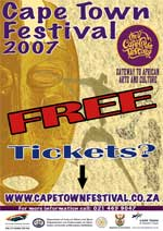 Cape Town Festival 2007 poster